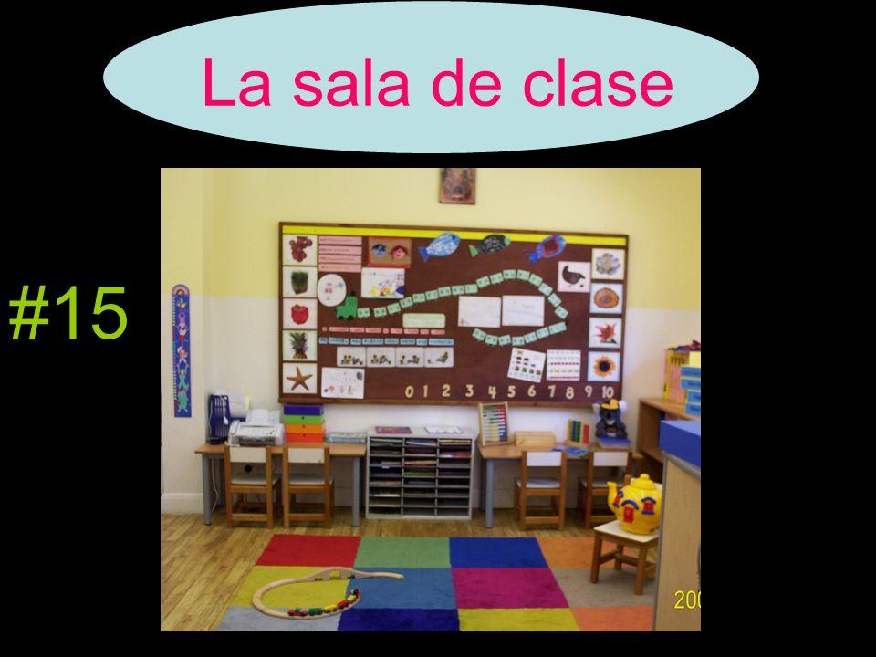 La sala de clase #15