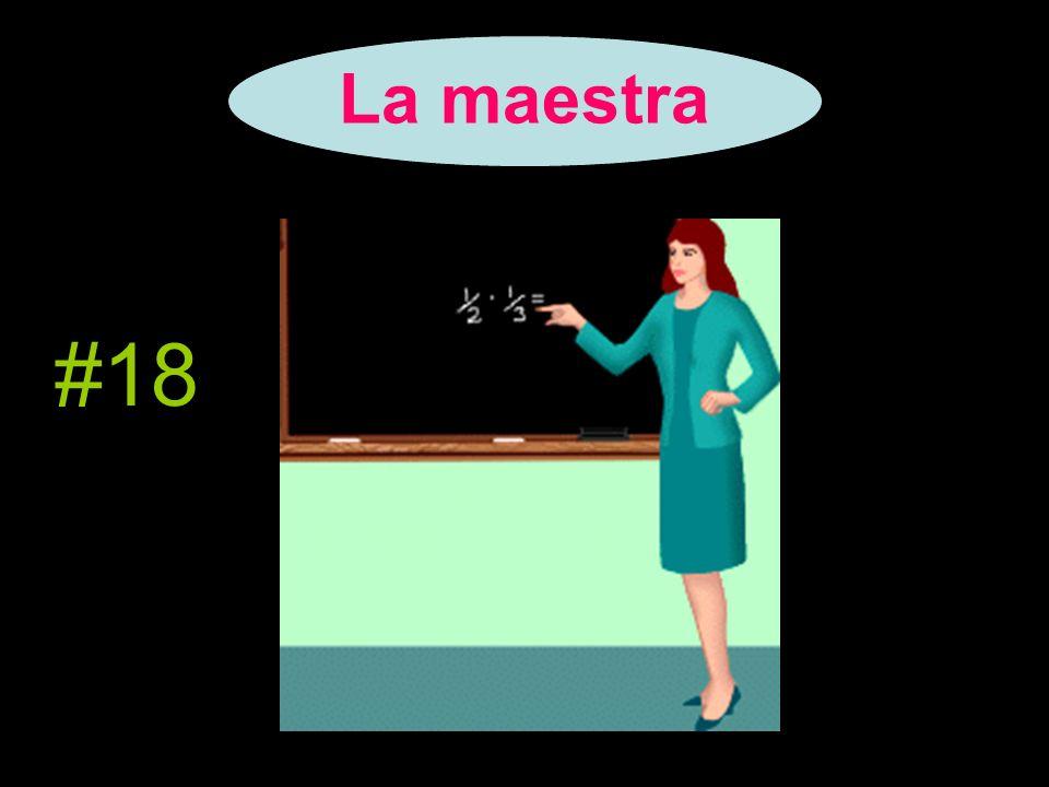 La maestra #18