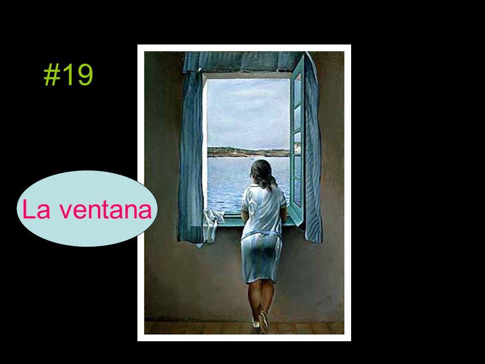 #19 La ventana