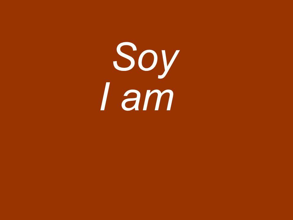 Soy I am