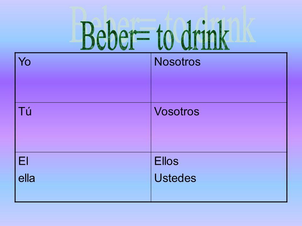 Vamos a practicar Conjugate the verbs correctly Ellos (Nadar) en el lago.
