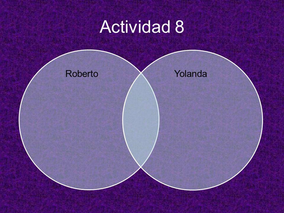 Actividad 8 YolandaRoberto