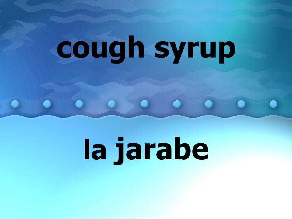cold el resfriado el catarro