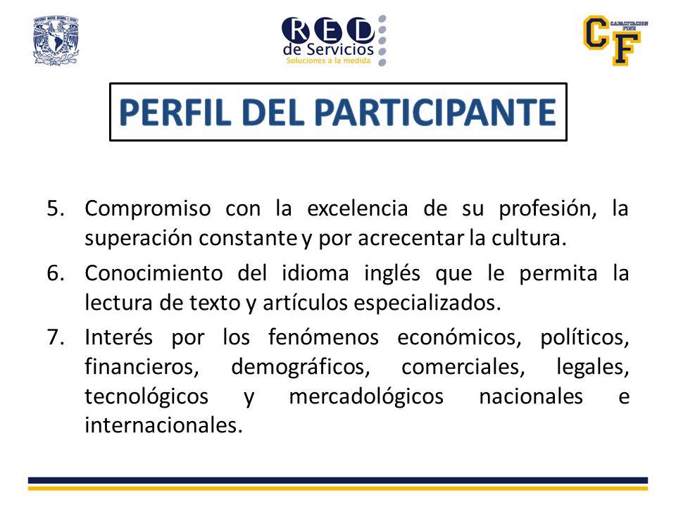 Nuestro actual programa cuenta con Reconocimiento de Validez Oficial de Estudios ante la Facultad de Contaduría y Administración de la UNAM.