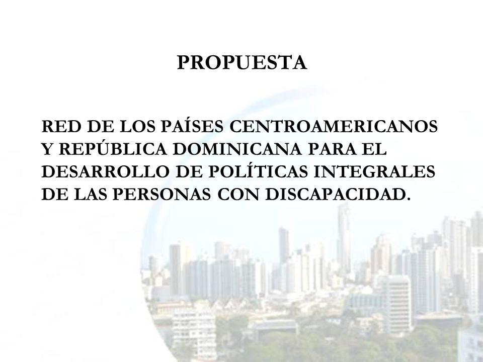 ELEMENTOS BÁSICOS QUE ORIENTARON LA FORMULACIÓN DE LA PROPUESTA DEFICIENTE VINCULACIÓN ENTRE INSTANCIAS QUE TRABAJAN LA DISCAPACIDAD.