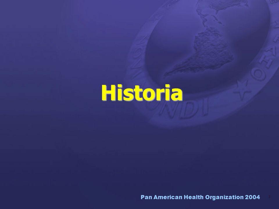 Pan American Health Organization 2004 14 Documento CE132/13: Atención Primaria de Salud Atención Primaria de Salud: lecciones aprendidas Cambio de paradigma en la práctica de la salud pública.