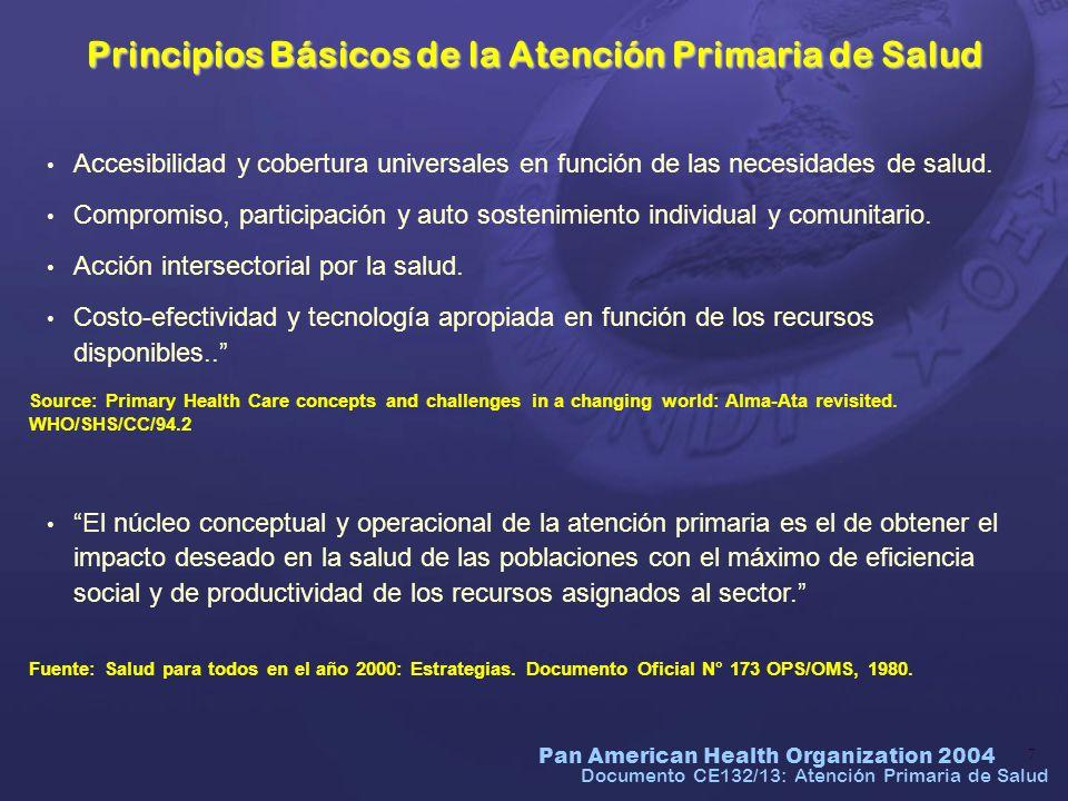 Pan American Health Organization 2004 38 Objetivo 5: Mejorar la salud materna