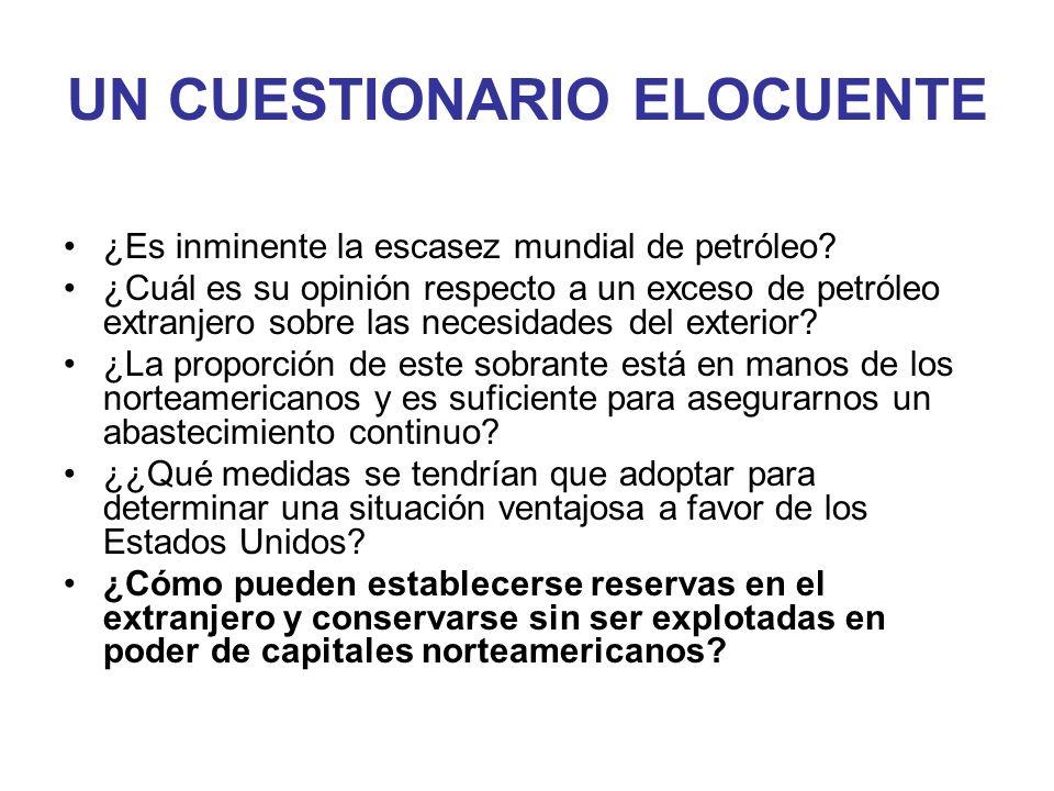 Nº Ranking CompañíaReservas (Liq.) 10 6 barriles 1Saudi Arabian Oil Co259.300 2Iraq National Oil Co112.500 3National Iranian Oil Co99.060 4Kuwait Petroleum Corp.96.500 5Abu Dhabi National Oil Co92.000 6Petroleos de Venezuela SA77.783 7National Oil Corp.