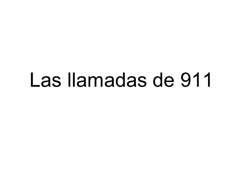 Las llamadas de 911