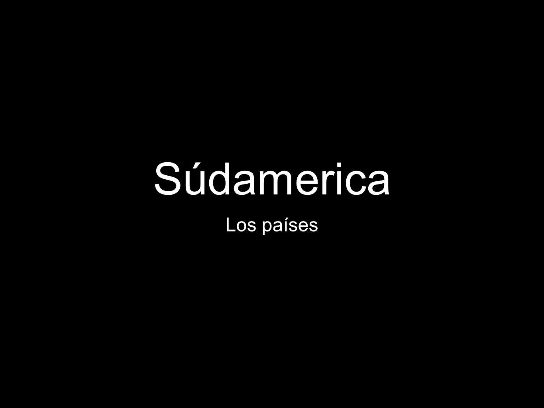Súdamerica Los países