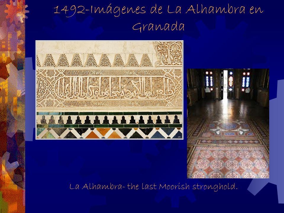1492-Imágenes de La Alhambra en Granada