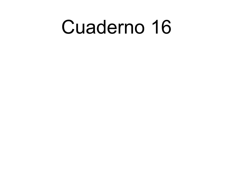 Cuaderno 16