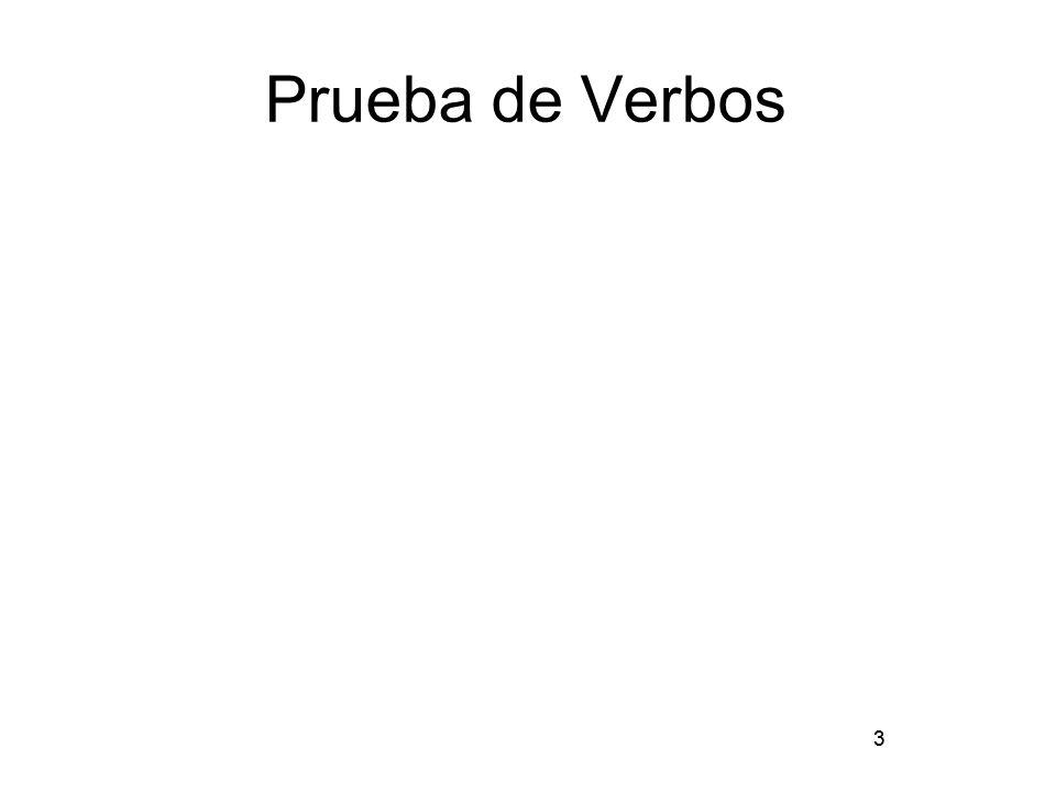 3 Prueba de Verbos 3