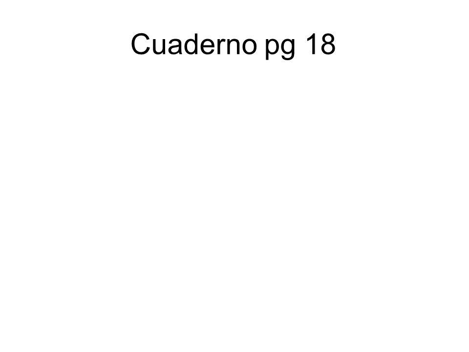 Cuaderno pg 18