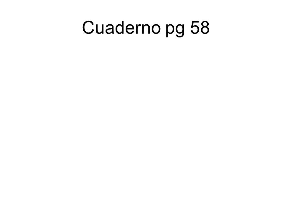 Cuaderno pg 58
