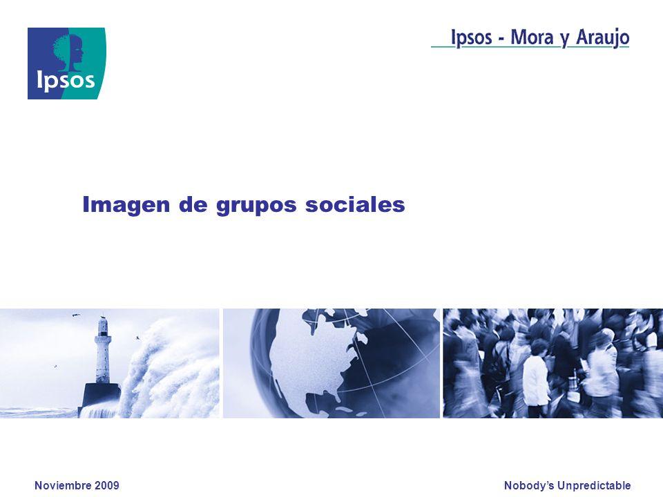 Nobodys Unpredictable Noviembre 2009 Clients logo Imagen de grupos sociales