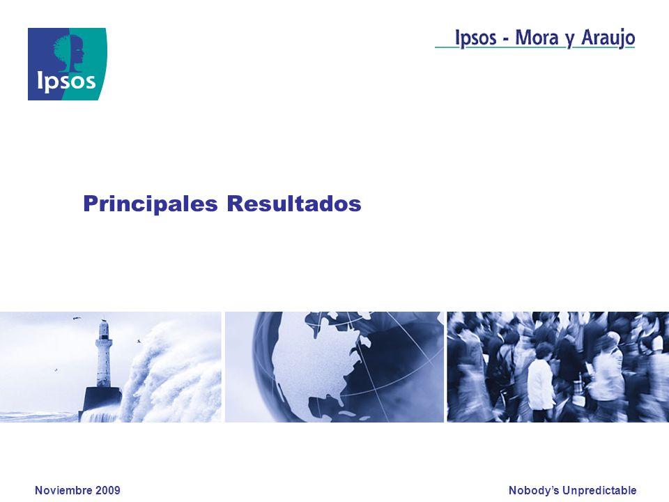 Nobodys Unpredictable Noviembre 2009 Clients logo Principales Resultados