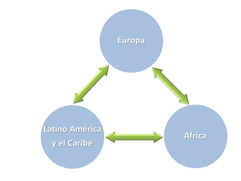 Europa Africa Latino América y el Caribe