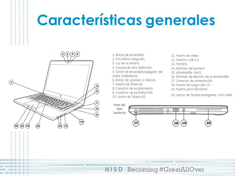HISD Becoming #GreatAllOver Características generales 1.