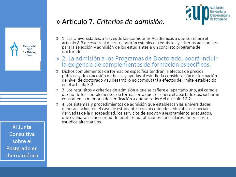 X Taller Internacional Junta Consultiva sobre el Postgrado en Iberoamérica 2 AUIP X Taller Internacional Junta Consultiva sobre el Postgrado en Iberoamérica 2 » Artículo 7.