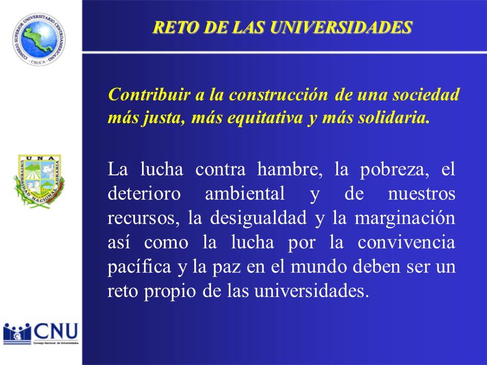 LA UNIVERSIDAD La formación profesional: Profesionales con: Una estructura cognoscitiva a la vez sólida y flexible.