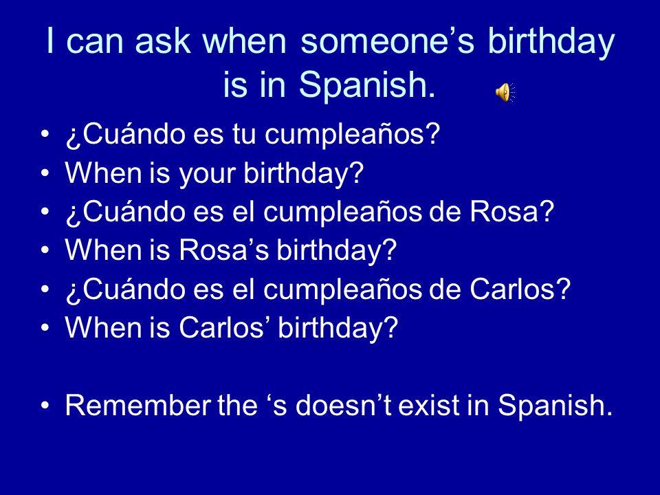 I can use the verb Tener to tell how old someone is. ¿Cuántos años tiene…..? ¿Cuántos años tienes tú? ¿Cuántos años tienen? Luisa / 15 _______________