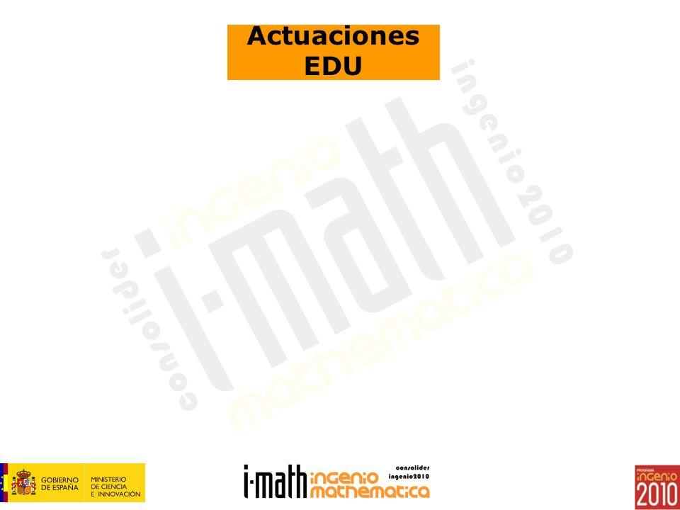 Actuaciones EDU