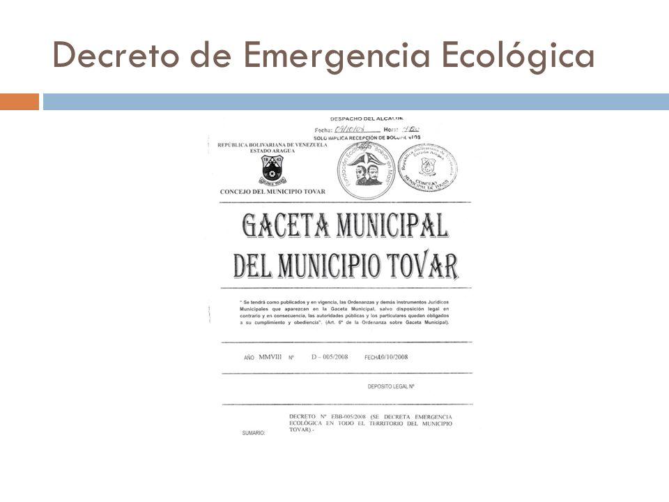 Decreto de Emergencia Ecológica