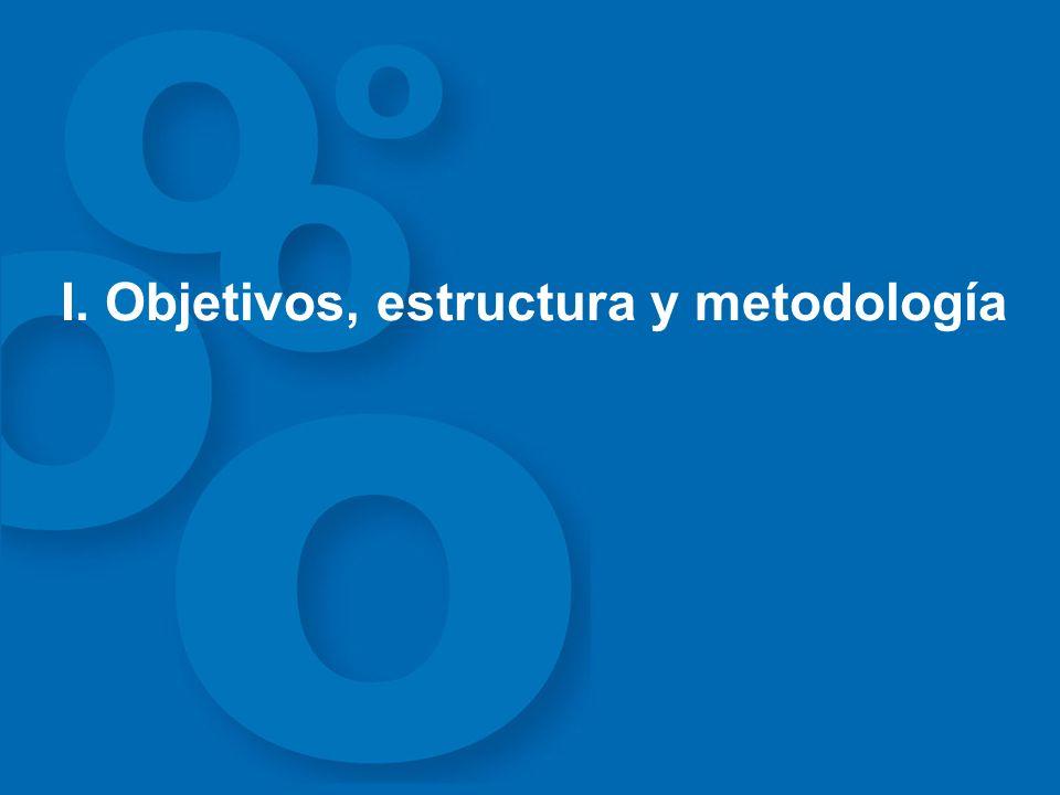 I. Objetivos, estructura y metodología