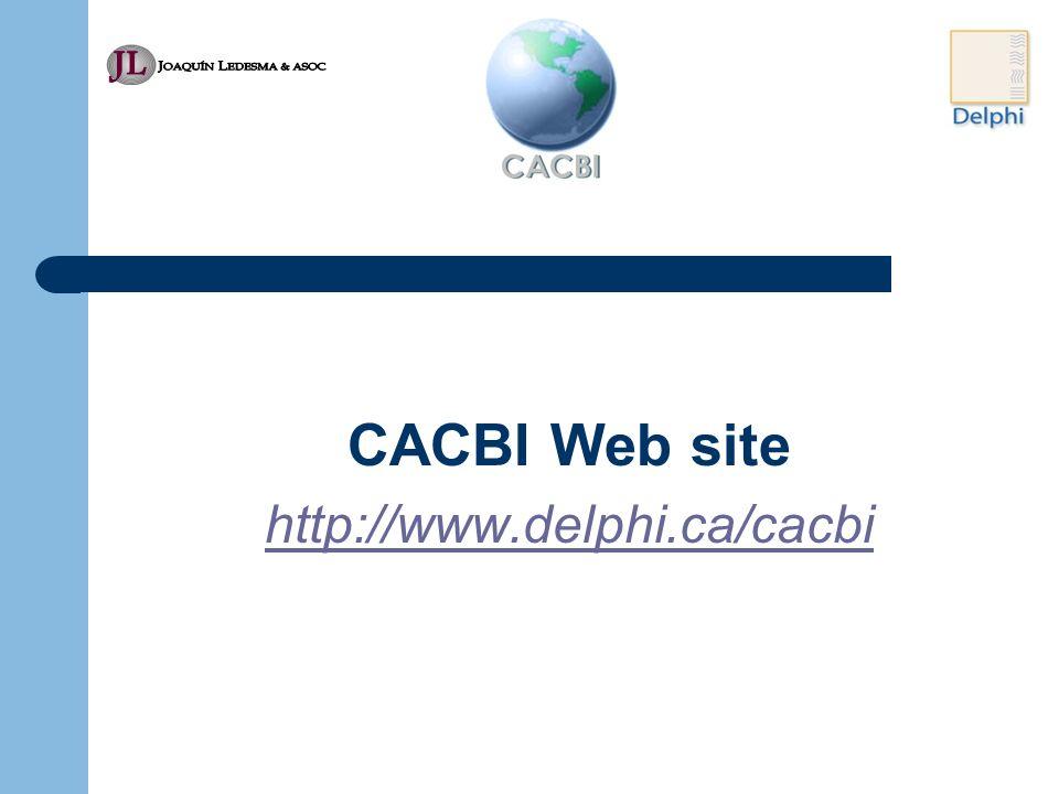 CACBI Web site http://www.delphi.ca/cacbi