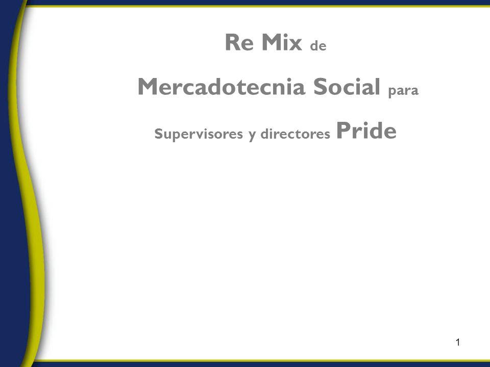 1 Re Mix de Mercadotecnia Social para Supervisores y directores Pride Reporting & Sustainability