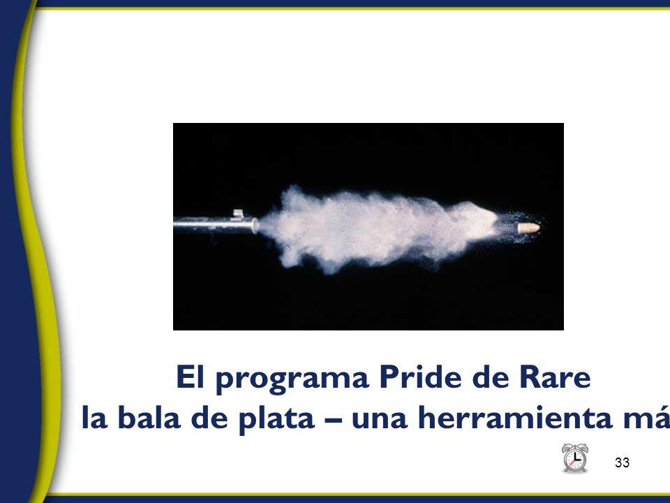 33 El programa Pride de Rare la bala de plata – una herramienta más