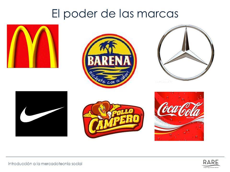 Introducción a la mercadotecnia social El poder de las marcas