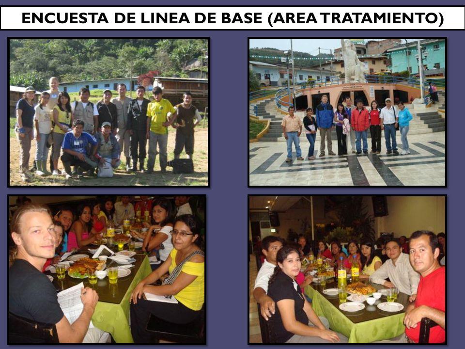 ENCUESTA DE LINEA DE BASE (AREA TRATAMIENTO)