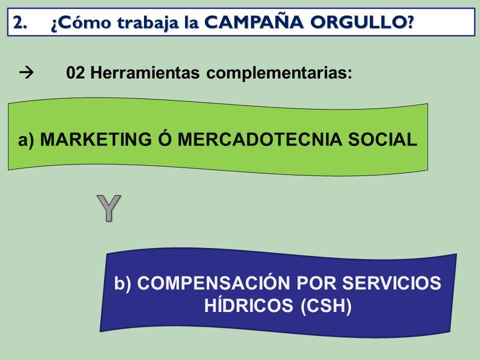 a) MARKETING Ó MERCADOTECNIA SOCIAL