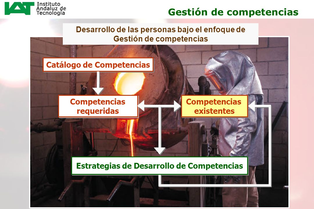 16 Desarrollo de las personas bajo el enfoque de Gestión de competencias Catálogo de Competencias Competencias requeridas Competencias requeridas Comp