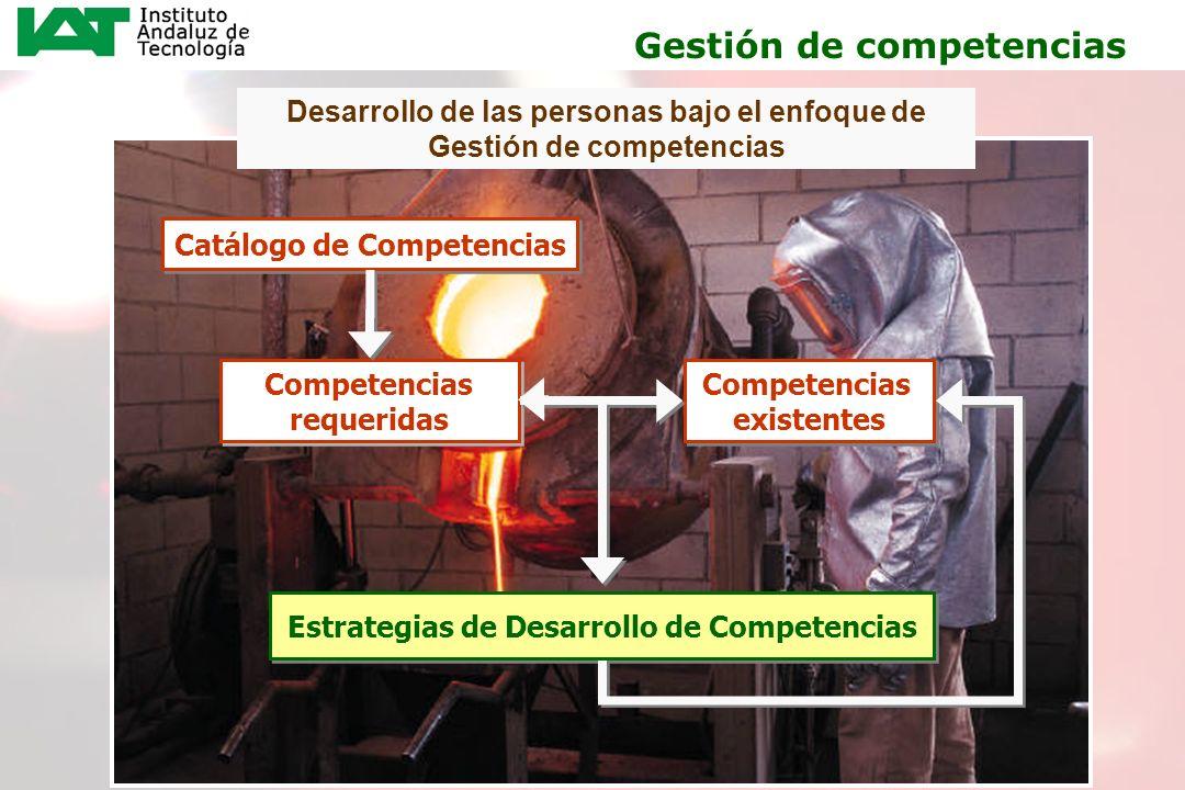 19 Desarrollo de las personas bajo el enfoque de Gestión de competencias Catálogo de Competencias Competencias requeridas Competencias requeridas Comp