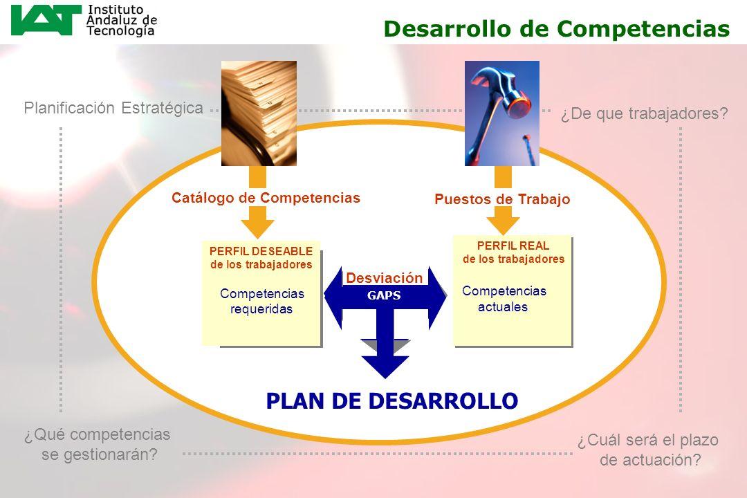 20 PERFIL REAL Capacidades Conocimientos Actitudes PERFIL REAL de los trabajadores Competencias a desarrollar Necesidades de formación Desviación PERF