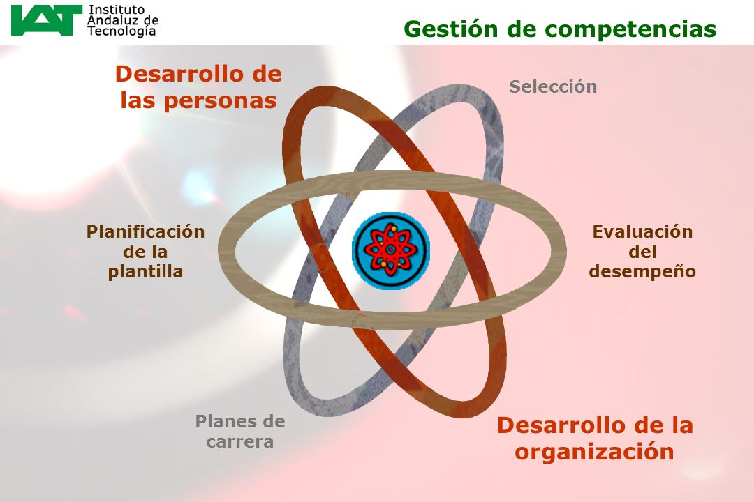 8 Gestión de competencias Desarrollo de las personas Desarrollo de la organización Selección Evaluación del desempeño Planificación de la plantilla Pl