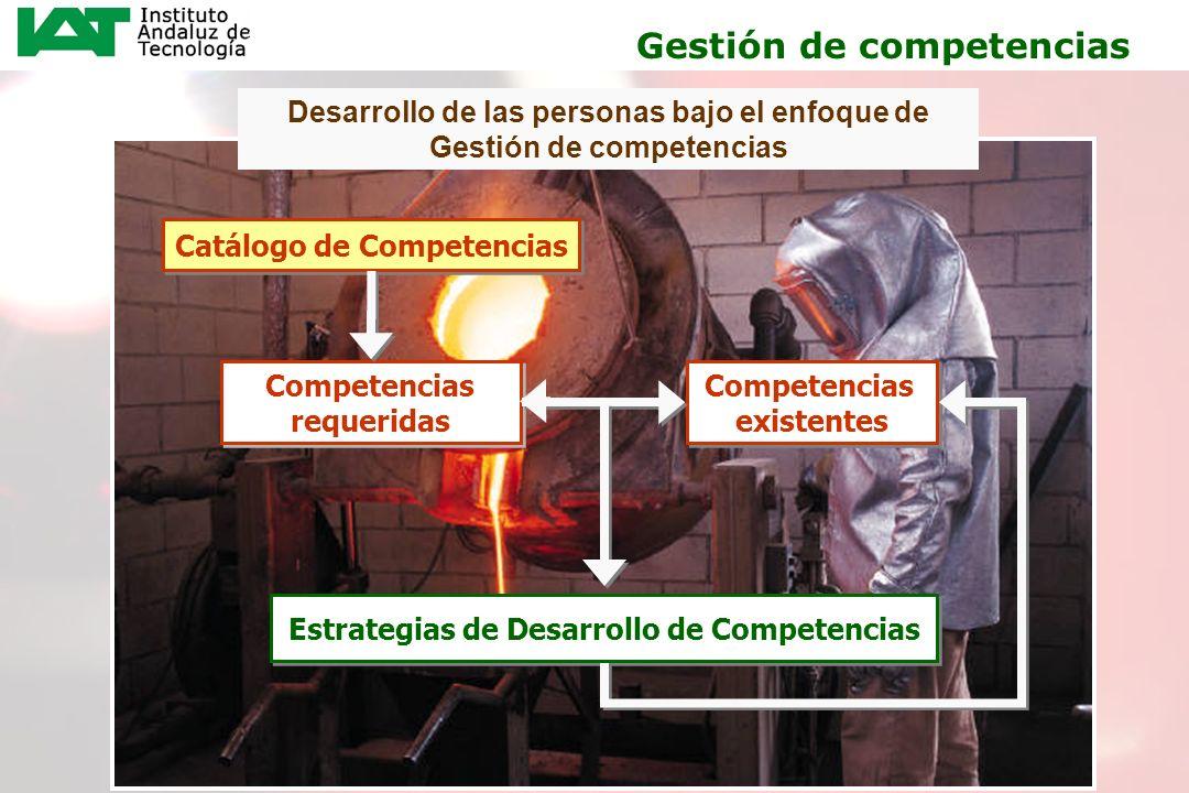 9 Desarrollo de las personas bajo el enfoque de Gestión de competencias Catálogo de Competencias Competencias requeridas Competencias requeridas Compe