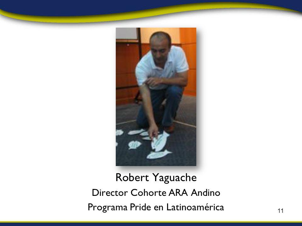Robert Yaguache Director Cohorte ARA Andino Programa Pride en Latinoamérica 11