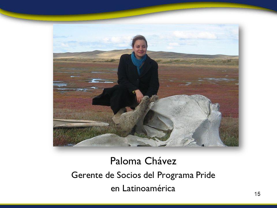 Paloma Chávez Gerente de Socios del Programa Pride en Latinoamérica 15