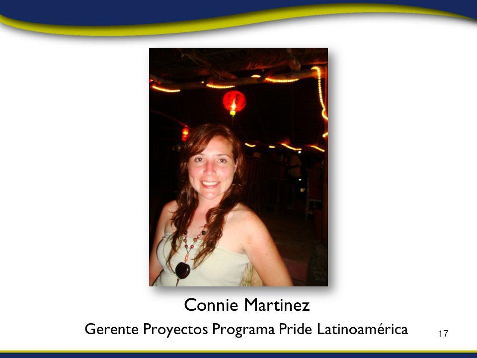 Connie Martinez Gerente Proyectos Programa Pride Latinoamérica 17