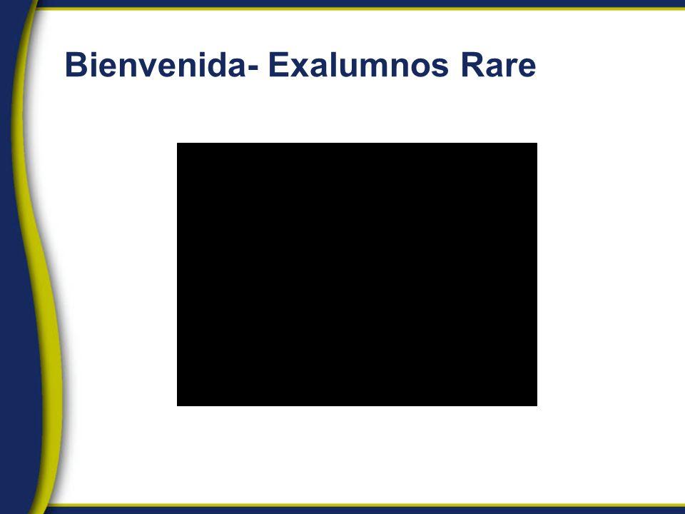 Bienvenida- Exalumnos Rare