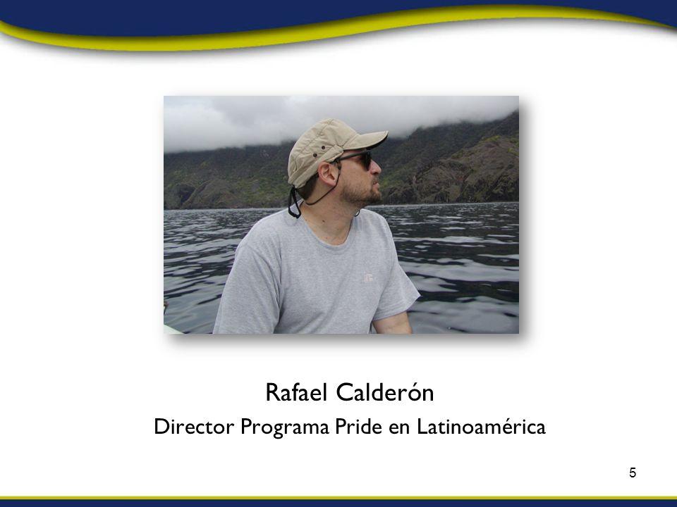 Rafael Calderón Director Programa Pride en Latinoamérica 5