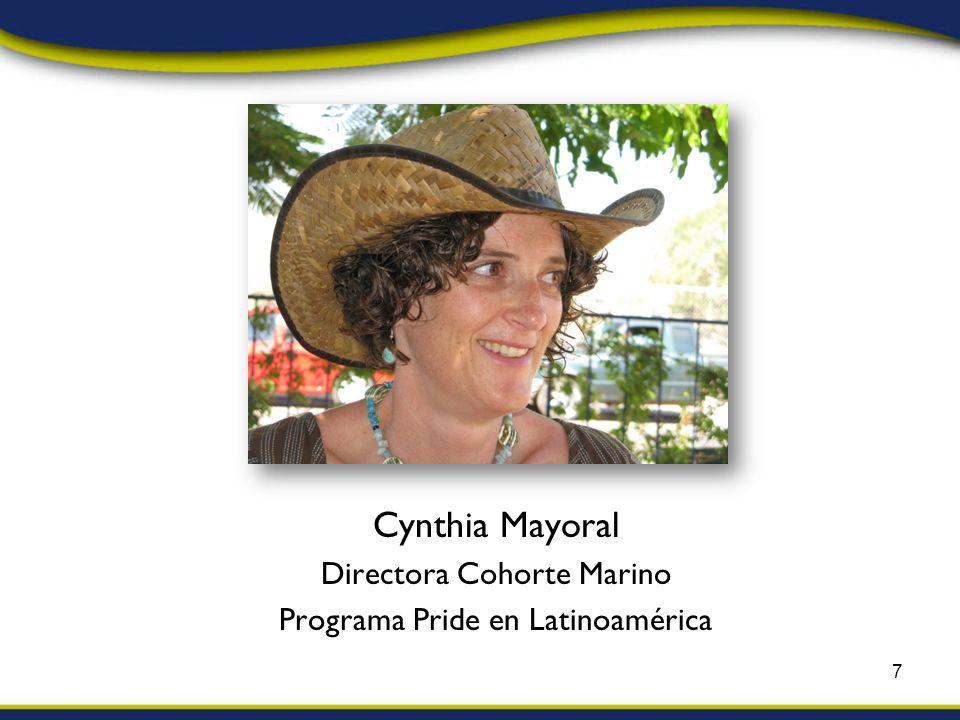 Cynthia Mayoral Directora Cohorte Marino Programa Pride en Latinoamérica 7