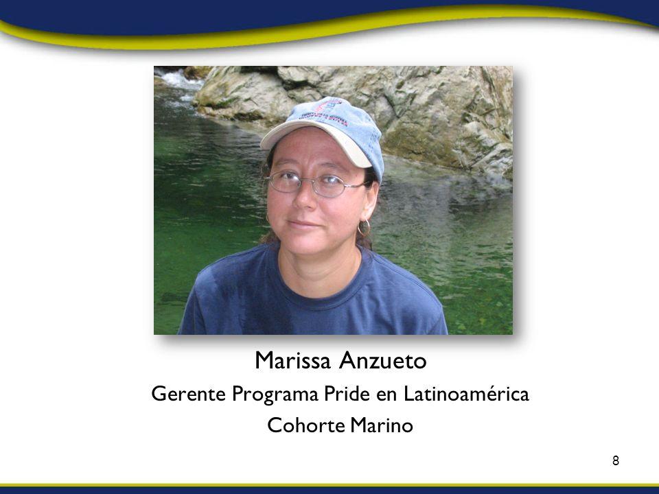 Marissa Anzueto Gerente Programa Pride en Latinoamérica Cohorte Marino 8
