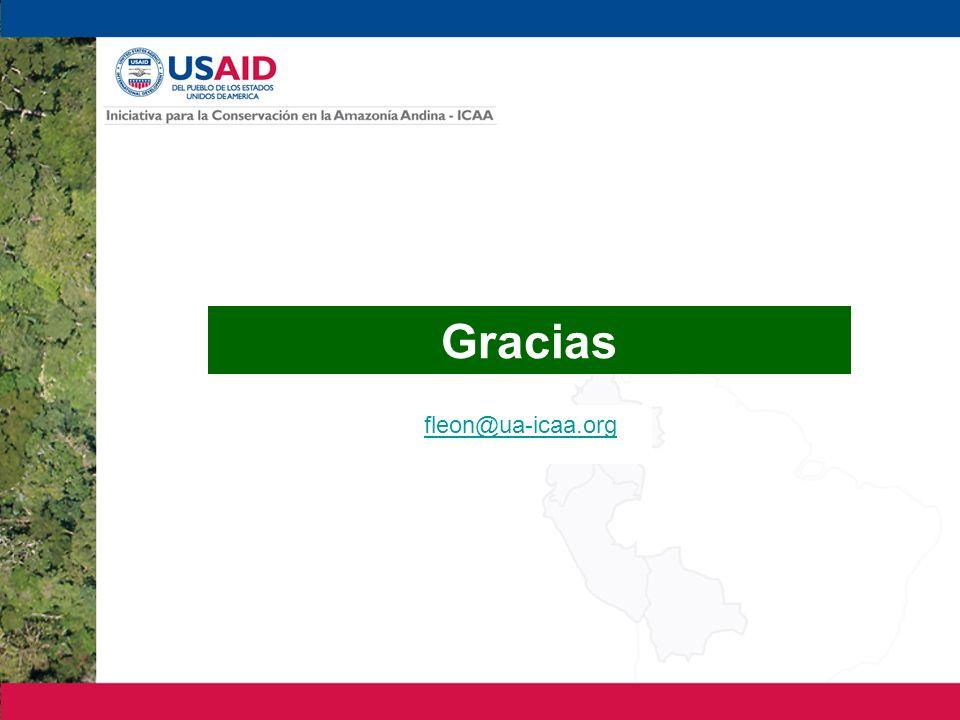 Gracias fleon@ua-icaa.org