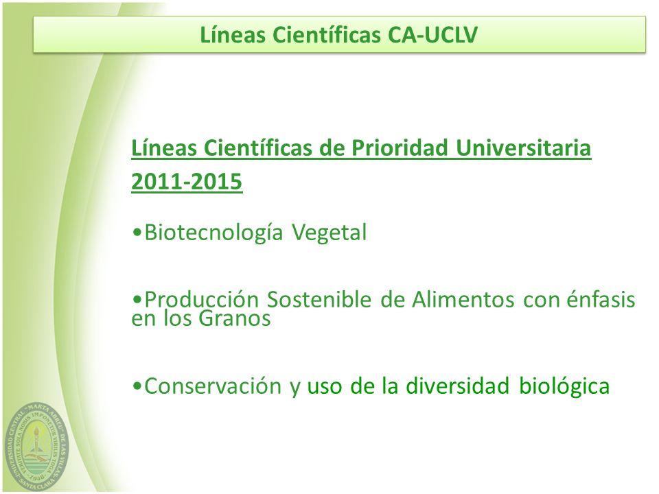 Agricultura Tropical Sostenible Biotecnología Vegetal Producción Animal Sostenible Graduados Dr.