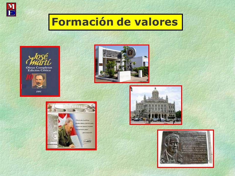 Formación de valores